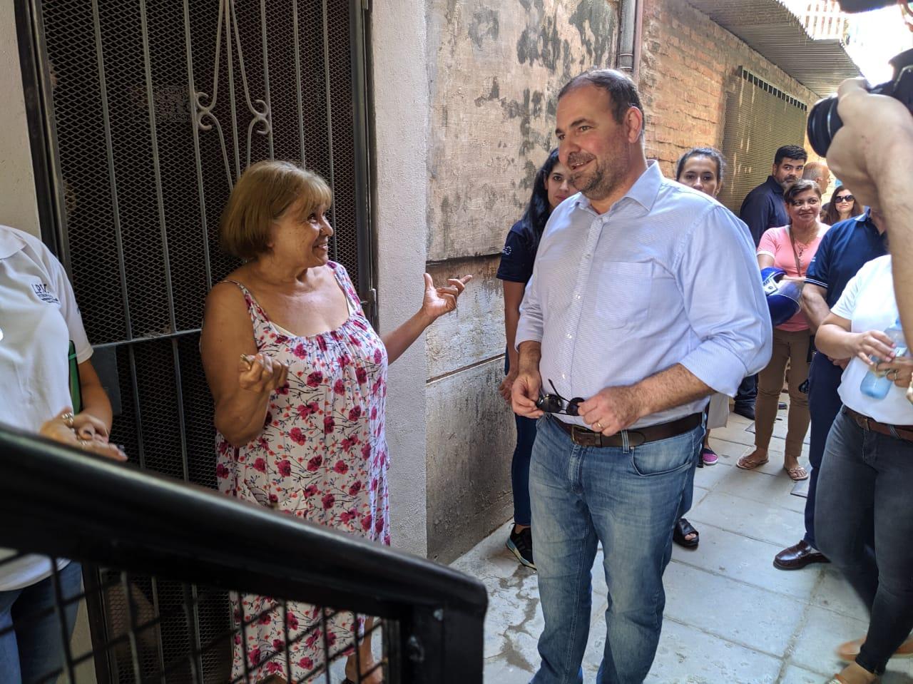 Guadalupe Florece: Presentaron reformas de los núcleos de escaleras de las torres 101 y 102 - Agenfor