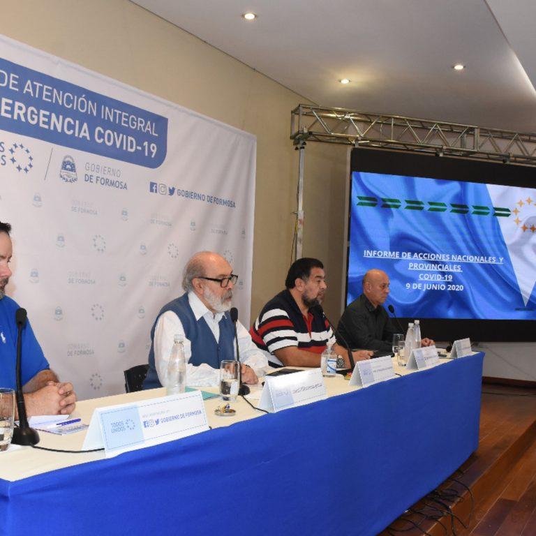 COVID-19: PARTE OFICIAL DEL GOBIERNO DE FORMOSA