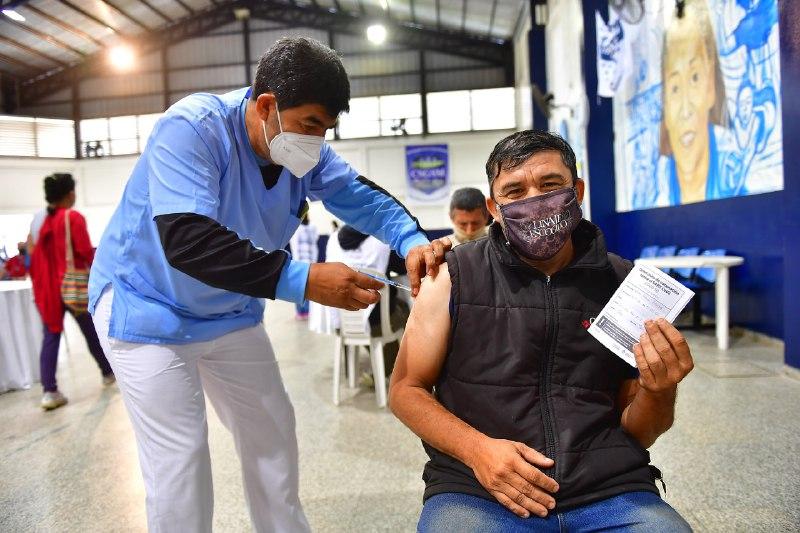 COVID-19: Aplicarán este lunes segundas dosis de AstraZeneca y Covishield en Formosa Capital